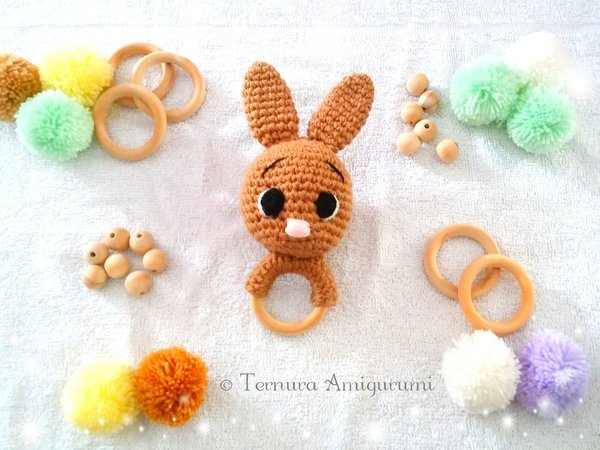 Crochet Amigurumi Bunny Toy Free Patterns Instructions | 450x600