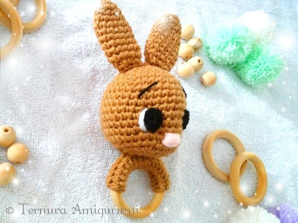 Crochet Patterns for Ladybug and Dress-Up Bunny Doll from