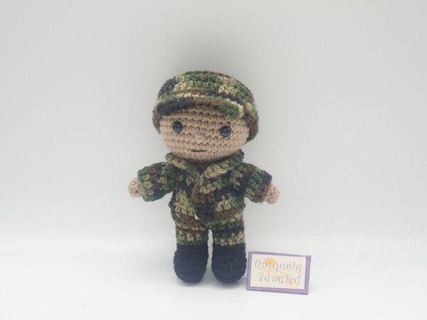 Little Teddy, the bear, amigurumi, crochet ENGLISH | 450x600