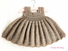 Crochet pattern Girl Dress Emma