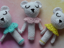 Crochet Pattern Cute polarbear Rattle Lotte