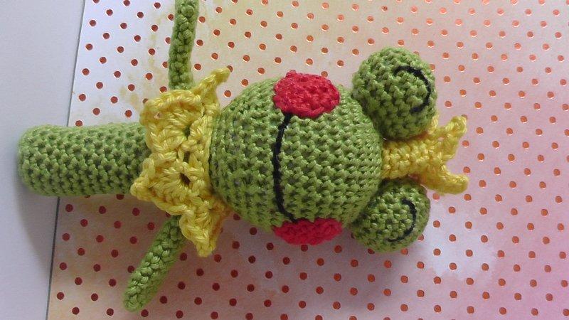 Baby Frog on Lily Pad Set PDF Crochet Pattern | 450x800