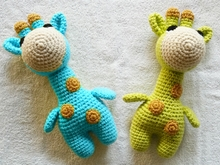 Crochet pattern giraffe PDF Ternura Amigurumi English- Deutsch- Dutch