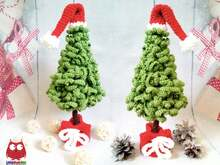 242 Crochet Pattern - Christmas Tree New Year - Amigurumi PDF file by Knittoy CP
