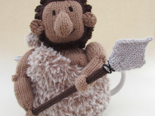 Caveman Tea Cosy Knitting Pattern