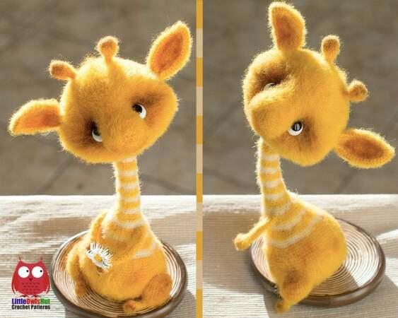 Crochet Giraffe PATTERN Amigurumi giraffe pattern pdf tutorial | Etsy | 450x563