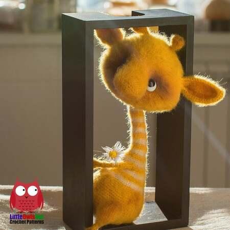 Giraffe amigurumi | Etsy | 450x450