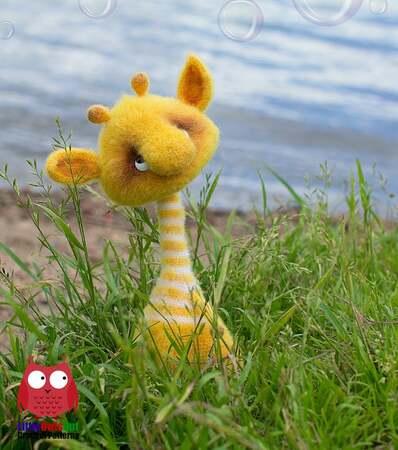Giraffe Deer Crochet Amigurumi Toys - Buy Giraffe Amigurumi Toys ... | 450x398