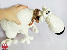 252 Crochet Pattern - Polar Bear Plombir - Amigurumi toy PDF file by Pertseva CP