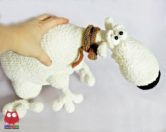 Lilly Polar Bear Crochet Kit by Wool Couture | 450x563