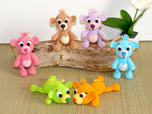 Crochet Pattern little Teddy bear