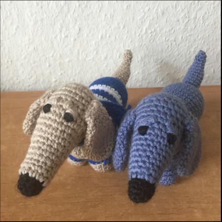 Emmy Makes Crochet: teckel amigurumi, free english pattern p ... | 450x451