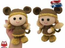 188NLY Haak patroon - Pop in een Viking Aap outfit - Amigurumi PDF file by Stelmakhova CP
