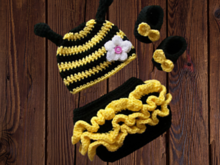Pattern Baby bee outfit