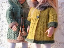 Dolls Coat Knitting Pattern