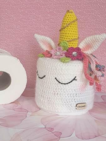 einhorn toilettenpapierhülle