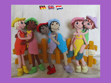 "Free pattern ""Take care of each other """