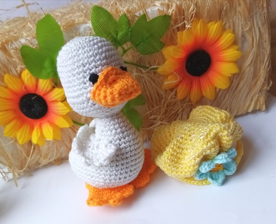 Crochet Pattern duck amigurumi