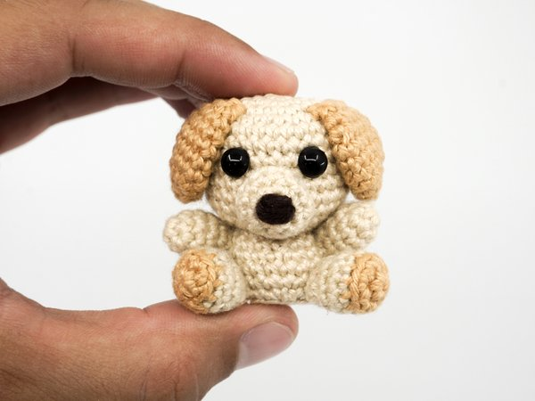 Amigurumi Mini Dog Crochet Pattern