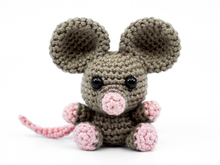 Amigurumi Mini Mouse Crochet Pattern