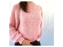 Knitting Pattern - Sweater JOSY - Sizes: XS (S) M (L) XL (2XL) - No.235E