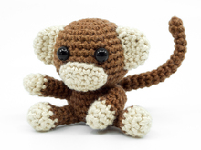 Amigurumi Mini Monkey Crochet Pattern