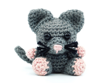 Amigurumi Mini Cat Crochet Pattern