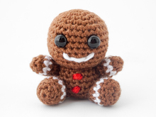 Amigurumi Mini Gingerbreadman Crochet Pattern