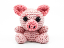 Amigurumi Mini Pig Crochet Pattern