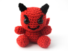 Amigurumi Mini Devil Crochet Pattern