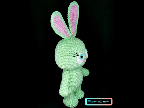 Amigurumi Bunny Pattern for Easter or Springtime | Stuff The Body | 450x600