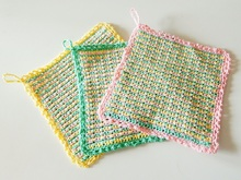 New potholders crochet pattern