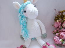 Unicorn crochet pattern ( include shoes)