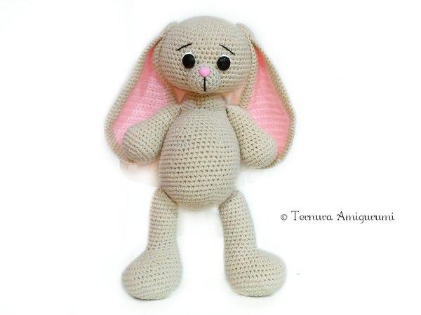 PATTERN - Sleepy Ida and Itsy-bitsy bunny - amigurumi pattern ... | 450x600