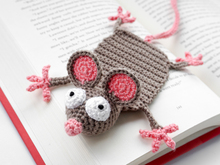 Amigurumi Crochet Mouse Bookmark