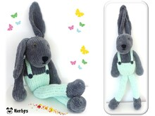 "Strickanleitung Hase ""Big Rabbit"""