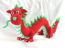 Henry the chinese Dragon crochet pattern