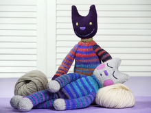 Kitty Longlegs, knitting pattern