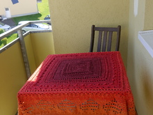 crochet pattern tablecloth Mureki