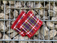 Knitting Pattern for Potholders á la Fraser