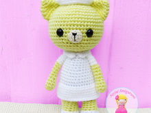 Nurse Kitty Cat, Amigurumi Crochet Pattern