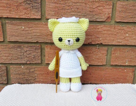 Amigurumi Orange Cat Free Crochet Pattern | Amigurumi häkeln, Tier ... | 450x578