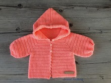 Baby - Kids Hooded Cardigan Julia