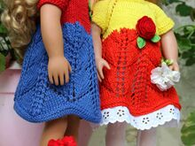 Dolls Dress3 Knitting Pattern