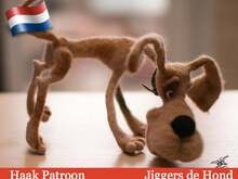 164NLY Haak patroon - Jiggers de hond - Amigurumi soft toy PDF file by Pertseva CP