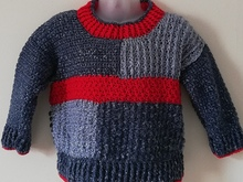 Crochet Sweater Pattern Charlie