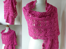 Crochet Wrap Pattern Rosy