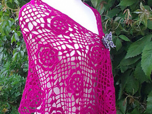 Crochet Wrap Lace Pattern