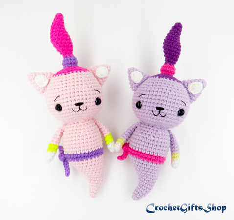 Cube Puppy Dog Amigurumi Pattern | 450x478