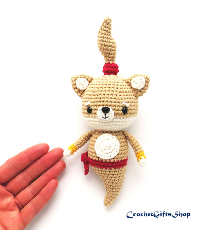 Tira The Little Cat - Crochet PDF pattern, instant download | Compras | 450x399
